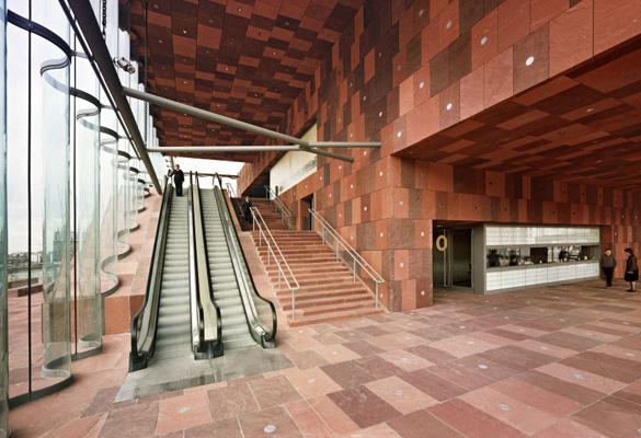 Musée Aan de Stroom - Anvers Réalisation de Façades en pierre