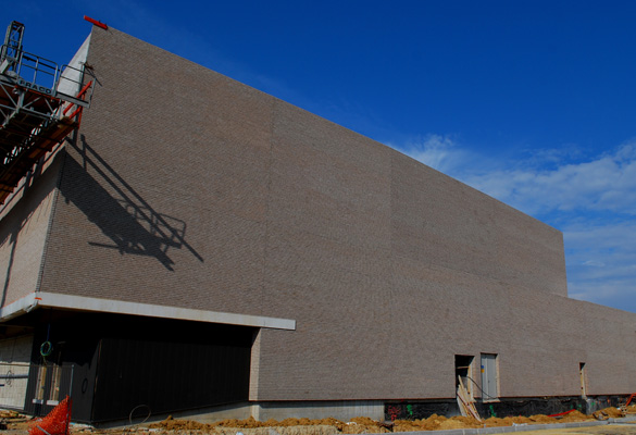 Antares Vega - Romainvilliers Habillage de façades en briques