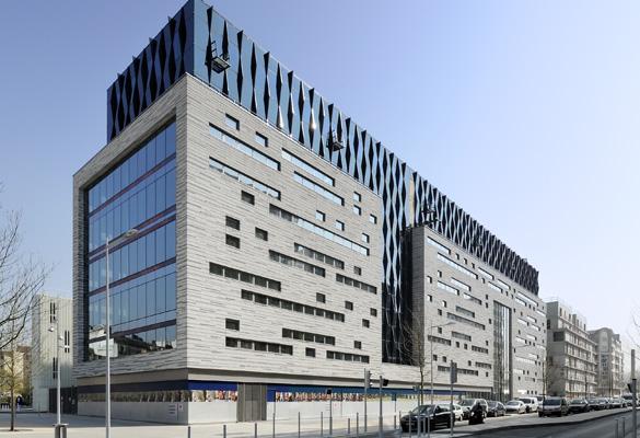 Rénovation d'immeuble de bureaux à Boulogne Billancourt France