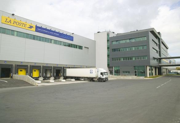French Post logistic center - Charles de Gaulle airport - Paris