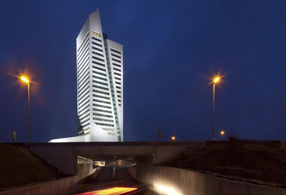 MG Tower - Gand (Belgique) Pierre naturelle