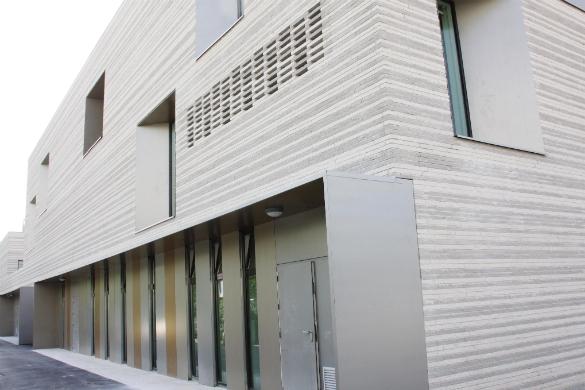Ecole Romain Rolland Epinay Sur Seine Habillage Brique