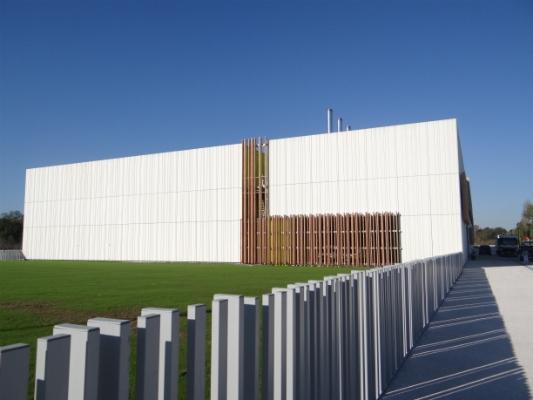 Espace Clément Ader - Toulouse Fixi 3D anchors for concrete panel facades.