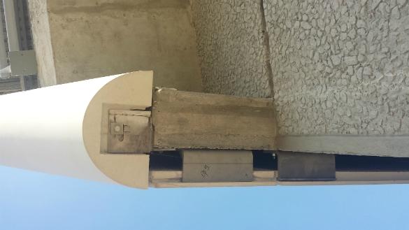 Pôle Culturel - Méry-sur-Oise Fixations pour panneaux en CCV (Composite Ciment Verre)
