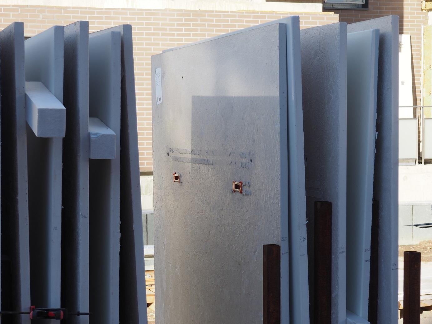 Big panels in UHPC