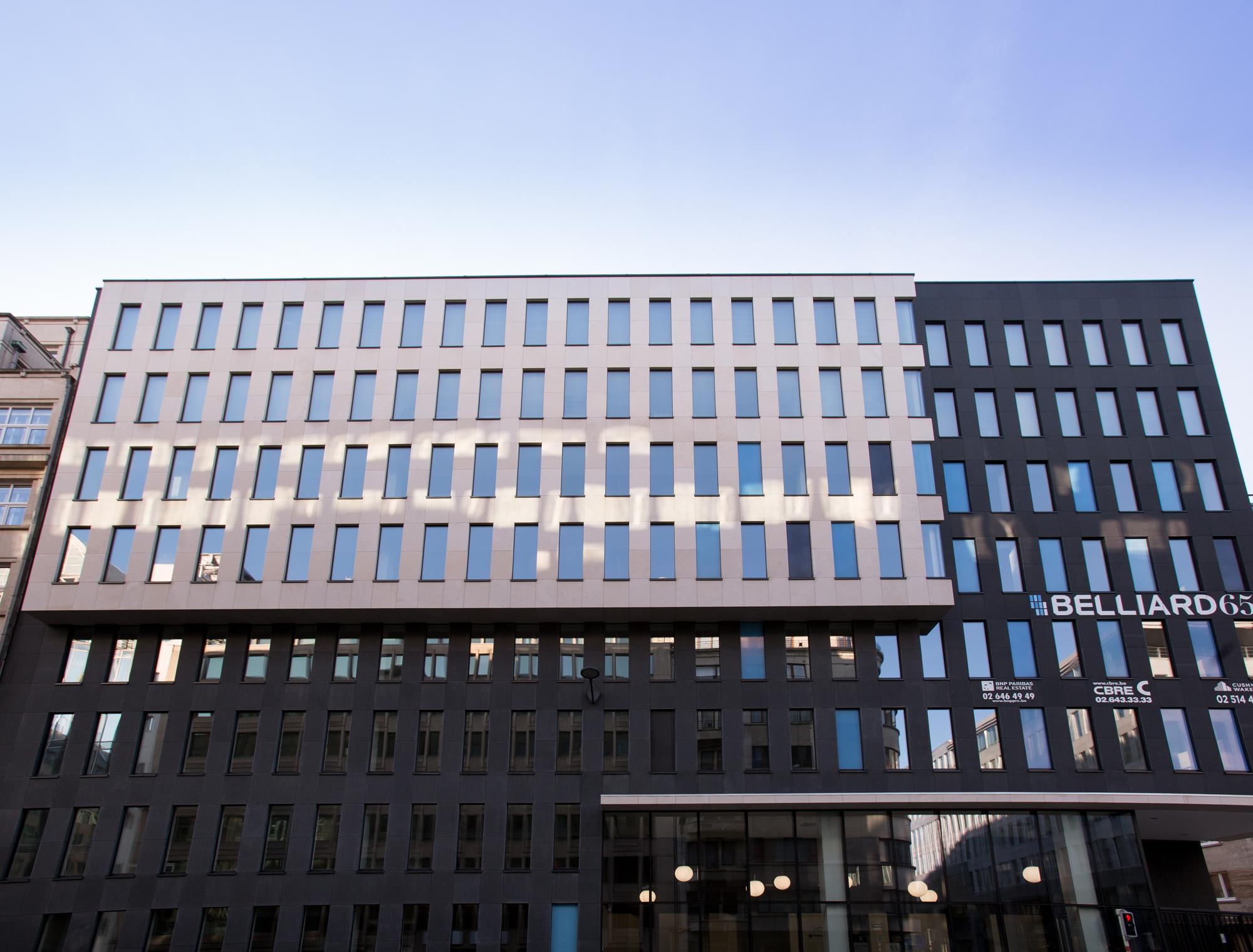 Belliard 65 - Bruxelles Panneaux en pierre naturelle