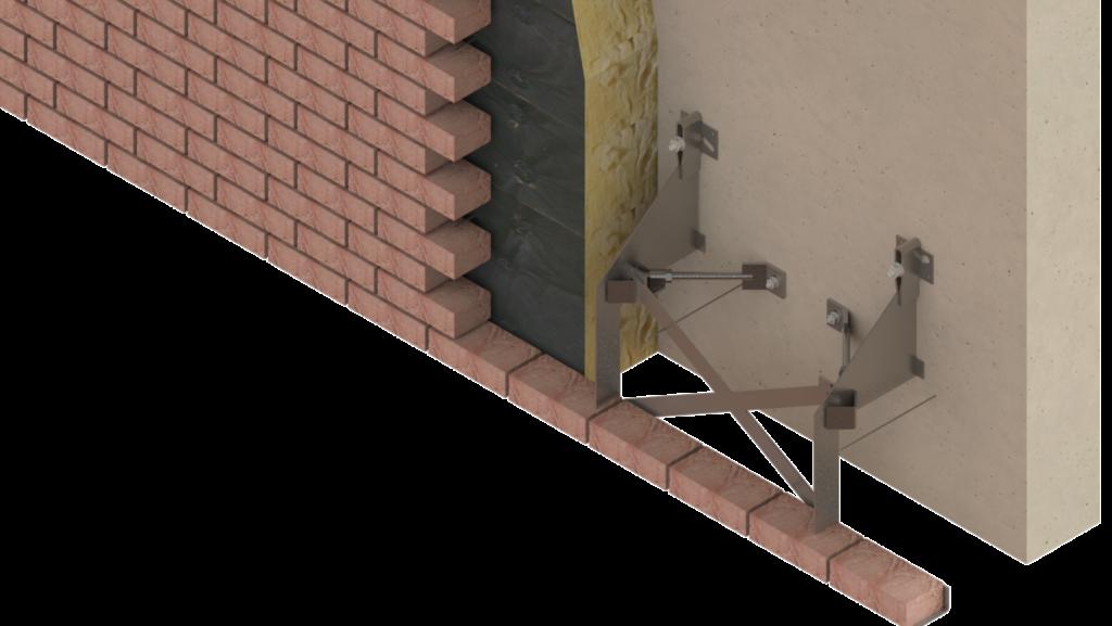 double mur sismique